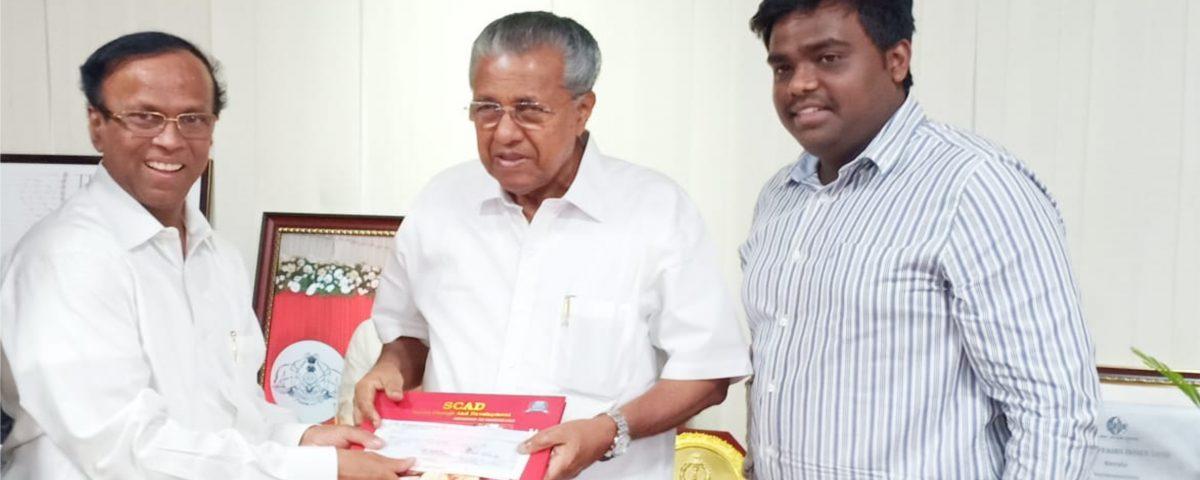 cletus-babu-and-arun-babu-are-donating-25lakhs-to-kerala-chief-minister